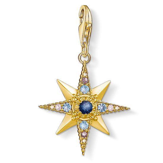 150931a4a Thomas Sabo Charm Pendant, Royalty Star 1714-959-7