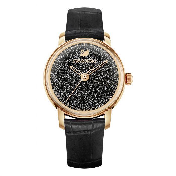 555e4d2d29 Swarovski Crystalline Hours Watch, Black