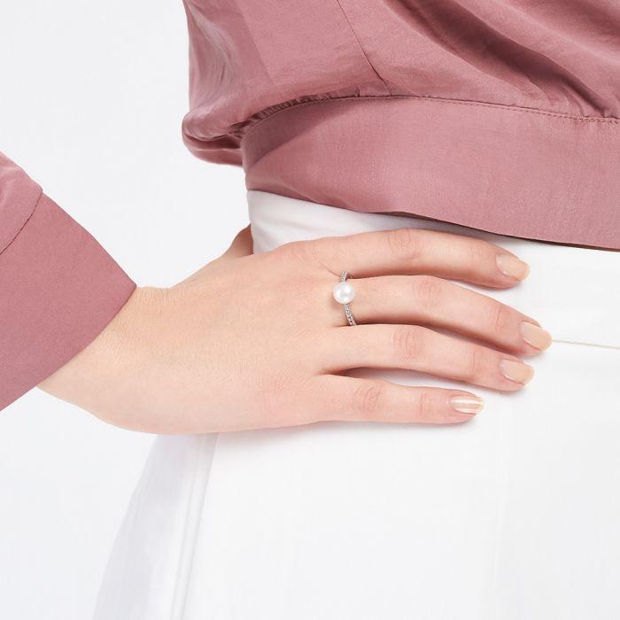 ba763b8bc67da Jersey Pearl Amberley Ring