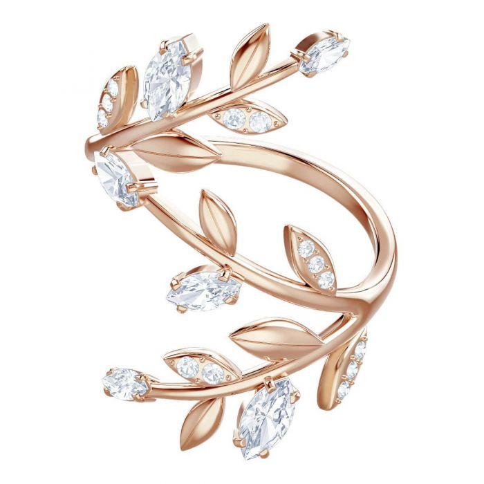 65ea13d93 Swarovski Mayfly Ring, White, Rose Gold Plating
