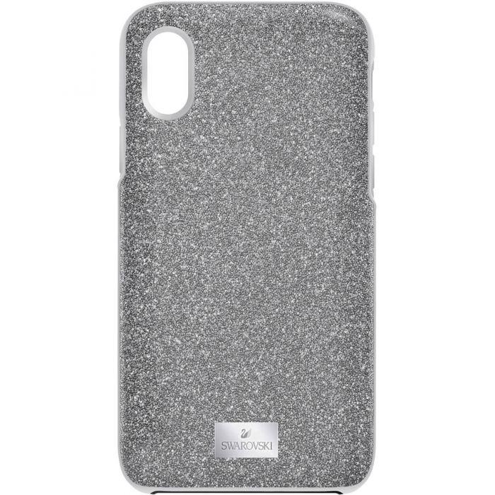 sports shoes f70f4 5db32 Swarovski High Smartphone Case with Bumper, iPhone® X/XS, Grey