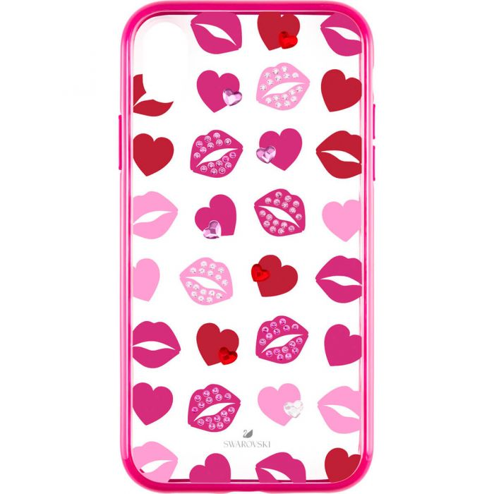 the latest 4c5e3 a3ed5 Swarovski Lovely Smartphone Case with Integrated Bumper, iPhone® XR, Pink