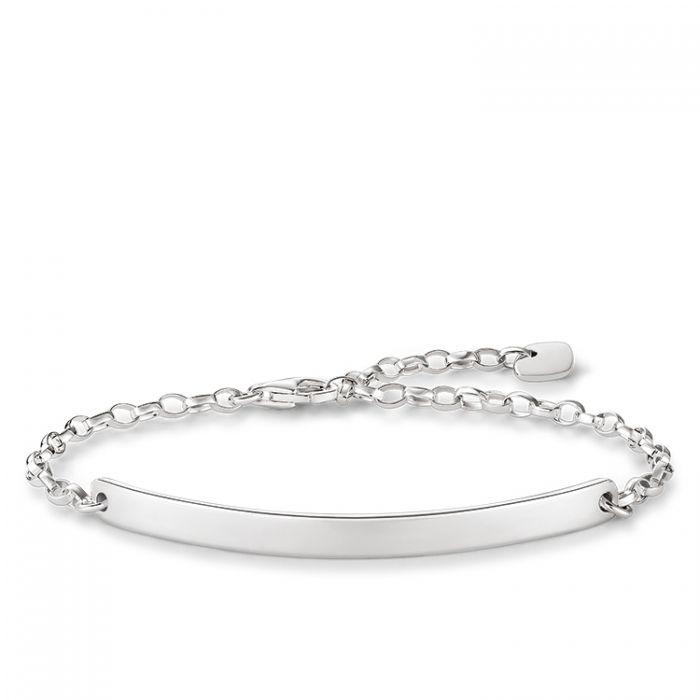 477cecbd8c4cc Thomas Sabo Classic Silver Love Bridge Bracelet