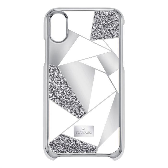 the best attitude ddb85 f001a Swarovski Heroism iPhone Case, iPhone® X/XS, Silver