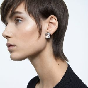 Swarovski Harmonia Earrings - White with Mixed Metal Finish 5600943
