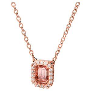 Swarovski Millenia Rose Gold Tone Plated Octagon Crystal Necklace