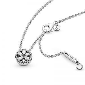Pandora Sparkling Flower Collier Necklace