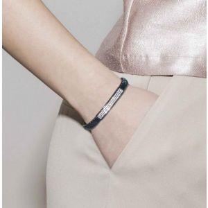 Nomination Glitter Stretch Bracelet With White Stones 043217_010
