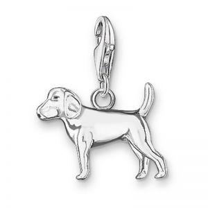 Thomas Sabo Charm Pendant - Silver Dog
