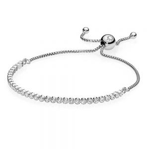 Pandora Sparkling Slider Tennis Bracelet-590524CZ-23, 590524CZ-25