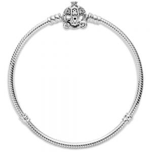 Disney Cinderella Pumpkin Coach Clasp Pandora Moments Bracelet 599190C01