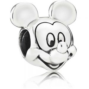 Pandora Disney, Polished Mickey Mouse Charm 791586