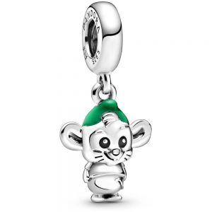 Pandora Disney Cinderella Gus Mouse Dangle Charm 798849C01