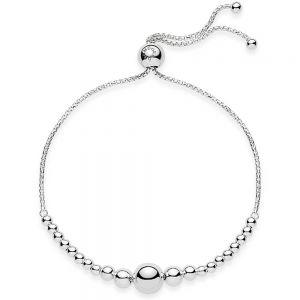 Pandora String of Beads Slider Bracelet-597749-23, 597749-25