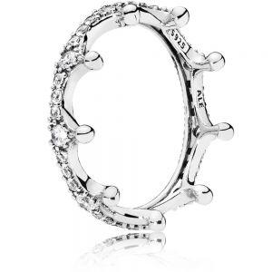 Pandora Clear Sparkling Crown Ring 197087CZ