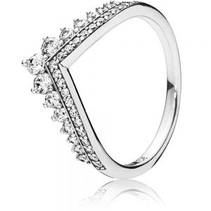 Pandora Princess Wishbone Ring 197736cz