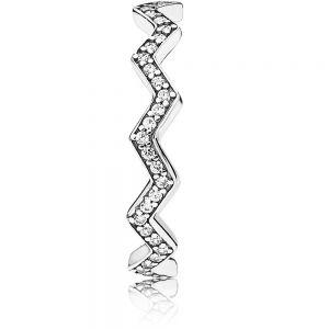 Pandora Shimmering Zigzag Ring 197751CZ