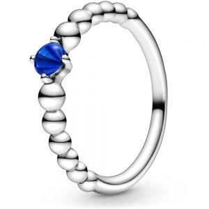 Pandora September Birthstone Beaded Ring 198867C12