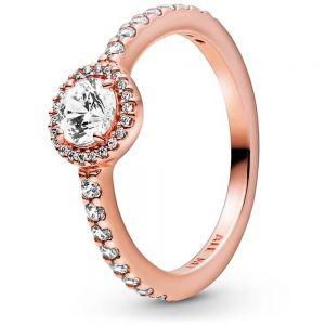 Pandora Rose Classic Sparkle Halo Ring-188861c01-48, 50, 52, 54, 56, 58, 60
