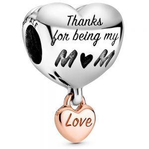 Pandora Love You Mum Heart Charm 788830C00