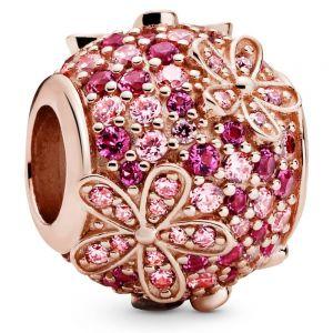Pandora Pink Pavé Daisy Flower Charm-788797c01