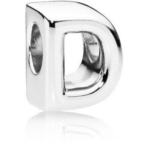 Pandora Letter D Alphabet Charm 797458