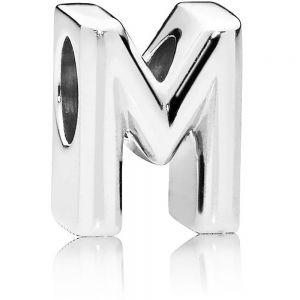 Pandora Letter M Alphabet Charm 797467