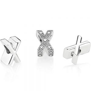 Pandora Letter X Alphabet Charm 797478