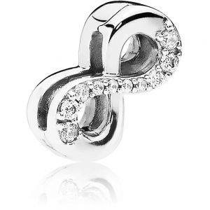 Pandora Sparkling Infinity Clip Charm 797580CZ