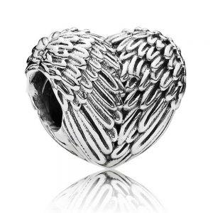Pandora Angel Feathers Heart Charm 791751