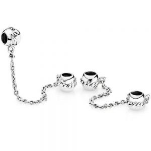 Pandora Family Forever Safety Chain Charm 791788-05