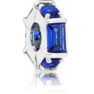 Pandora Blue Ice Cube Spacer Charm 797529NSBL