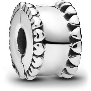 Pandora Beaded Hearts Clip Charm 798560C00