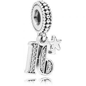 Pandora 16th Celebration Dangle Charm 797261CZ