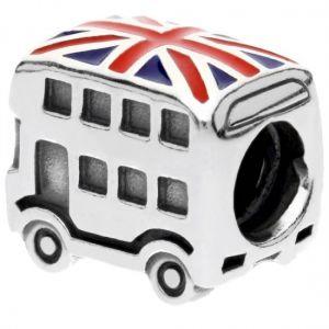 Pandora Union Jack London Bus Charm