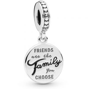 Pandora Friends Are Family Dangle Charm