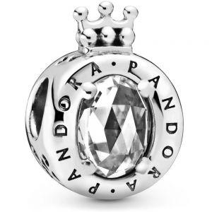 Clear Sparkling Crown O Charm-798266cz