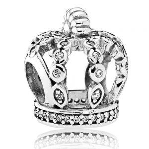 Pandora Openwork Crown Charm-792058cz