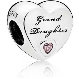 Pandora Granddaughter Heart Charm 796261PCZ