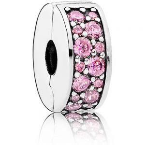 Pandora Pink Pavé Clip Charm 791817PCZ