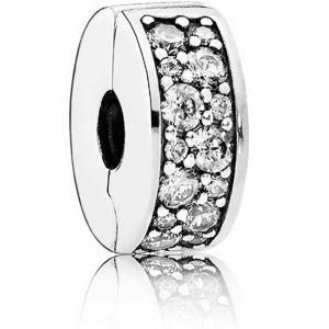 Pandora Clear Pavé Clip Charm 791817CZ