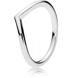 Pandora Polished Wishbone Ring 196314