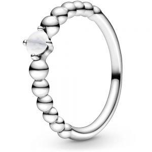 Pandora April Birthstone Beaded Ring 198867C04