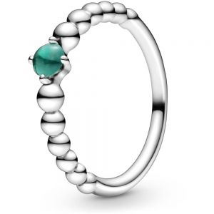 Pandora May Birthstone Beaded Ring 198867C05