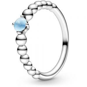 Pandora December Birthstone Beaded Ring 198867C07