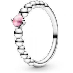Pandora October Birthstone Beaded Ring 198867C09