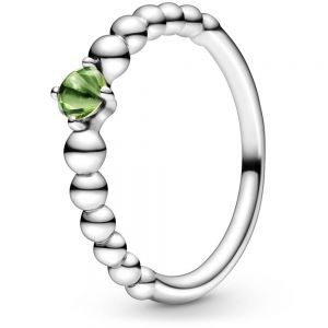 Pandora August Birthstone Beaded Ring 198867C10