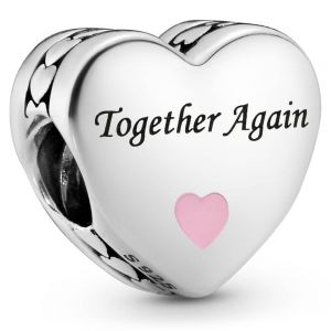 Pandora Together Again Heart Charm  792015C00_E051