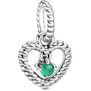 Pandora May Birthstone Heart Dangle Charm  798854C05