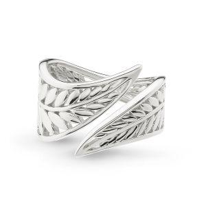 Kit Heath Blossom Eden Wrapped Leaf Ring 10247HP027